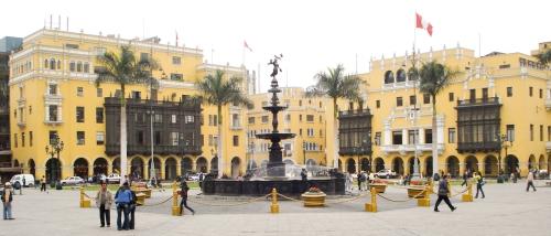 Plaza de Armas, Lima Peru.