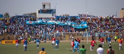 Sporting fans.