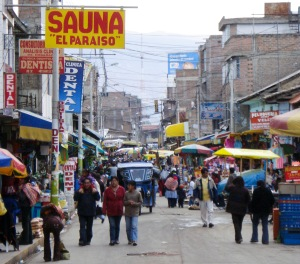 Huancayo market