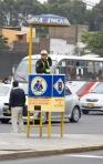 traffic cops in Lima Peru
