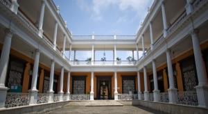 The courtyard of Palacio Iturregui