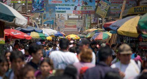 Market in Trujillo Peru
