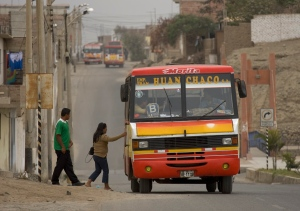 Bus in Huanchaco