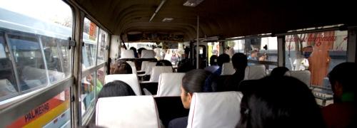 Lima inner city busses.