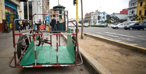 Tricycle cargo lowrider.