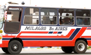 The Milagro to Buenos Aires bus of Trujillo
