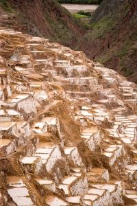 Salt flats of Salineras